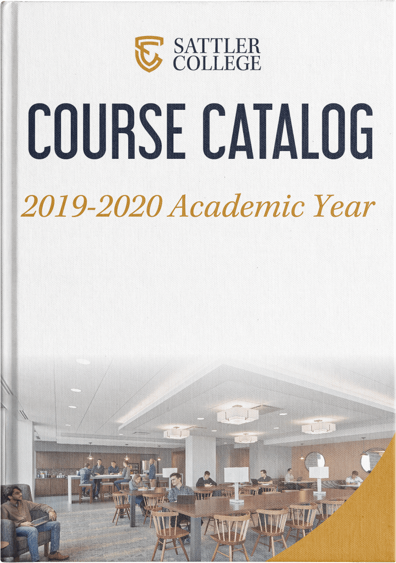 Sattler College Course Catalog Thumbnail